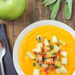 Potatoe and Pumpkin Soup