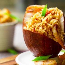 Shrimp W/ Coconut Rice