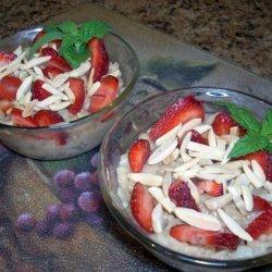 Nut Milk Rice Pudding recipe
