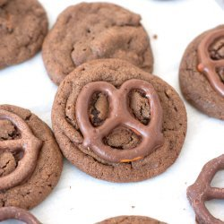 Chocolate Pretzel Cookies recipe