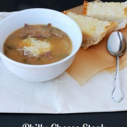 Philly Cheese Steak Soup recipe