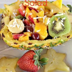 Pineapple  Salad  in a Can