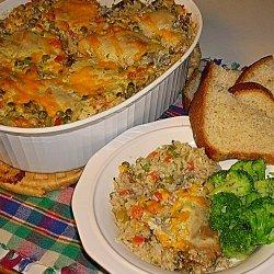 Vegetable Rice Casserole