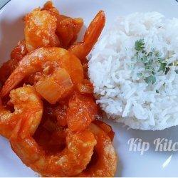 Healthy Shrimp Stir Fry for Two