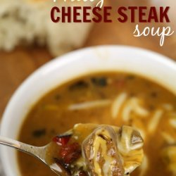 Cheese Steak Soup