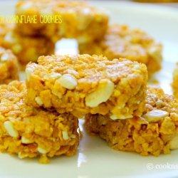 Corn Flake Peanut Butter Cookies