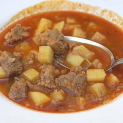 "Croatian ""cobanac"" Stew"