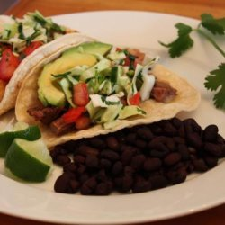 Chicken Ranchero Tacos recipe