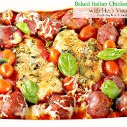 Italian Chicken Potato Bake
