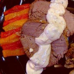 Oven-Roasted Beef Tenderloin With Sour Cream Sauce