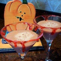 Cherry Bomb Martini !