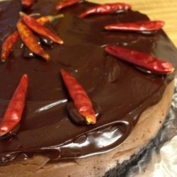 Greeny's Chocolate Chipotle Cheesecake
