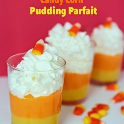 Candy Corn Pudding Parfaits