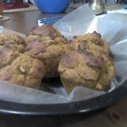 Pumpkin Pecan Protein Power Muffins