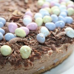 Gluten-Free No-Bake Toblerone Cheesecake