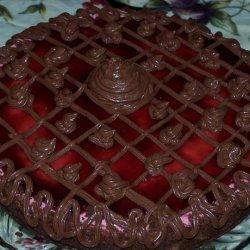 Chilled Raspberry Cheesecake recipe