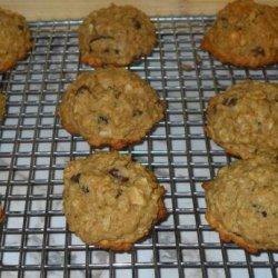 Honey Oatmeal Breakfast Cookies