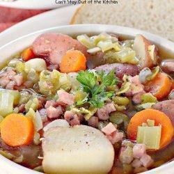 Split Pea and Ham Soup recipe