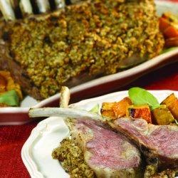 Rosemary-Crusted Rack of Lamb