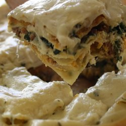 Butternut Squash and Goat Cheese Lasagna