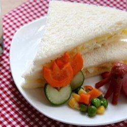 Egg Salad Sandwich Simple
