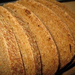 Soaked Whole Wheat Bread
