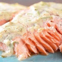 Salmon With Dijon Sauce