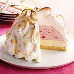 Strawberry Baked Alaska