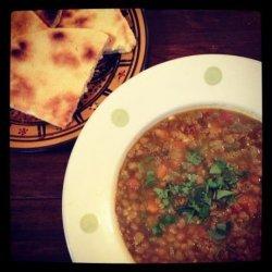 Algerian Lentil Soup (Chorba Adas)