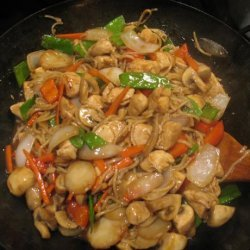 Totally Wokin' Stir Fried Hoisin Chicken