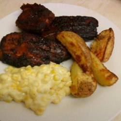 Wicklewood's Gluten Free Sweet Sticky Barbecue Ribs recipe