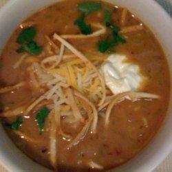 Chicken Tortilla Soup - Restaurant Style