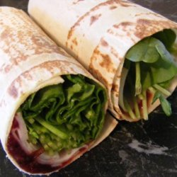 Turkey and Cranberry Wrap (21 Day Wonder Diet: Day 9) recipe
