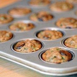 Zucchini Chocolate Chip Mini-Muffins (Gluten Free)