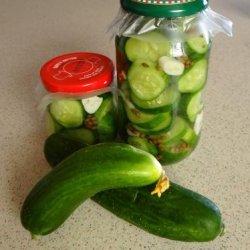 Pickled Lebanese Cucumber