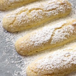 Lemon Charlottes and Lemon Curd