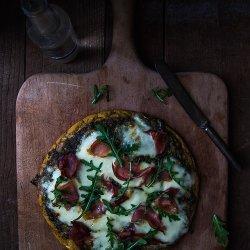 Prosciutto and Pesto Pizza