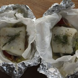 Fish Baked With Leeks