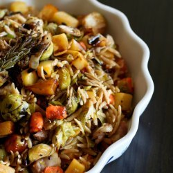 Warm Winter-Vegetable Salad