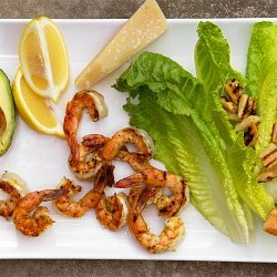 Caesar Salad With Grilled Shrimp