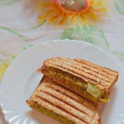 Bean Patty Sandwich