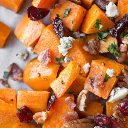 Warm Sweet Potato and Apple Salad