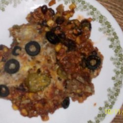 Tex Mex Turkey Casserole recipe