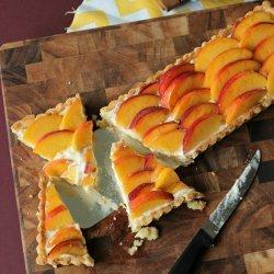 Amaretto Peach Tart  - P