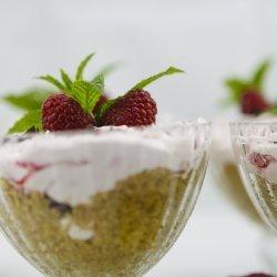 No Bake Lemon Raspberry Cheesecake