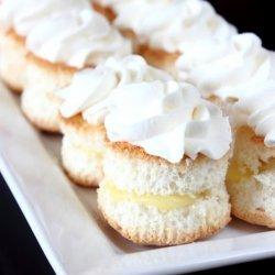 Lemon Angel Food Cake