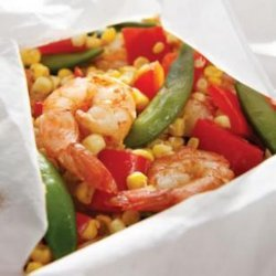 Five-Spice Shrimp and Vegetable Packets