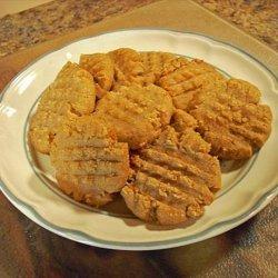 Almond Butter Cookies (Vegan) recipe