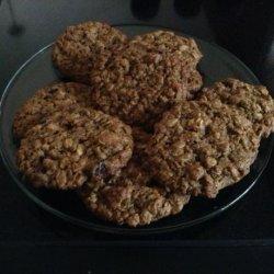High Fiber Oatmeal Cookies