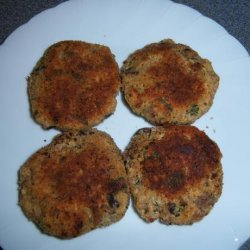 Cheddar & Bacon Mushroom Cakes
